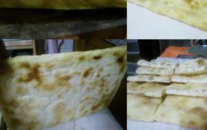 Pizza in teglia fine cottura