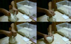 Pizza in teglia staglio