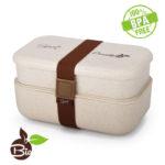 Portavivande Bio Amarillo Bento Box Amarillo Duo